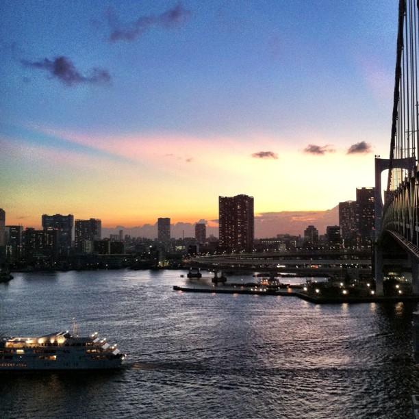【旅行】東京観光で半日時間を取れる人に、お台場+海辺満喫さんぽのすすめ