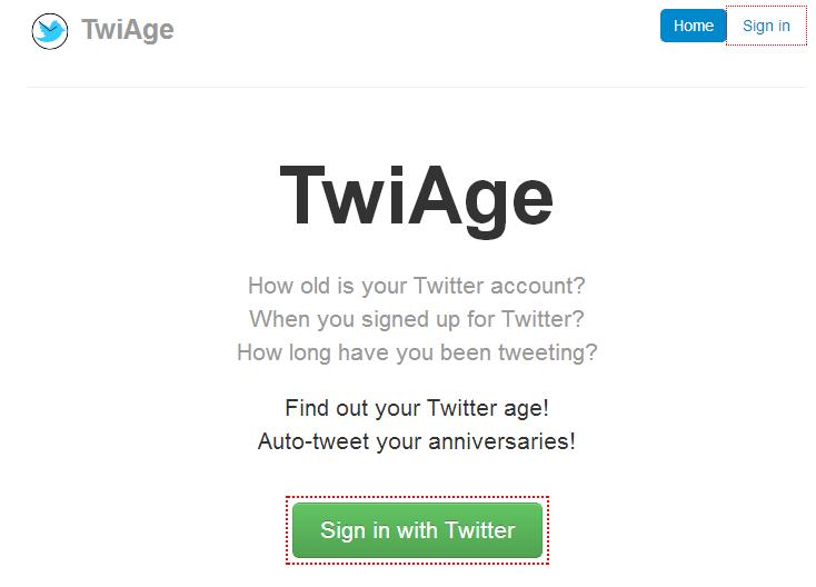 【WEBサービス】Twitter年齢、何歳? が10秒で分かる『TwiAge』