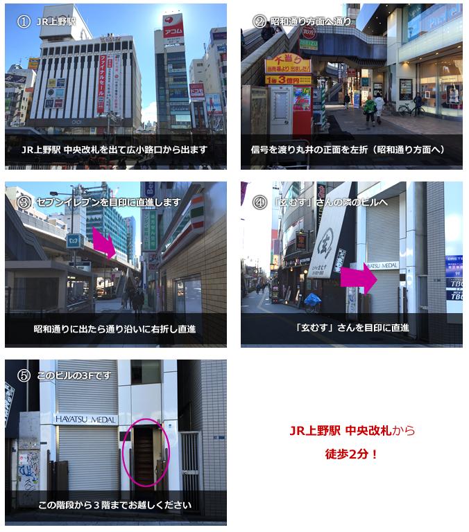 【iPhone】5sのガラス+液晶割れを上野駅徒歩2分の『iPhone工房上野店』で修理してもらいました